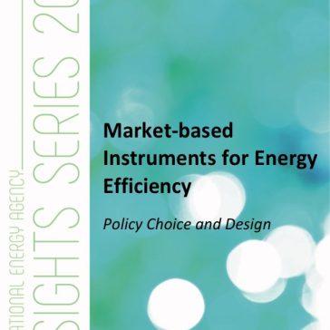 Publicación – Instrumentos basados en mercado para promover Eficiencia Energética