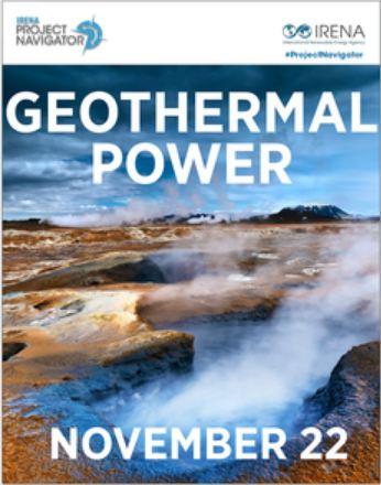 Webinnar sobre Energía Geotérmica