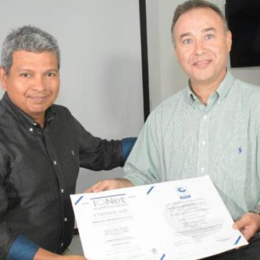 Otorgan Certifican ISO 50001 de Aguas de Cartagena