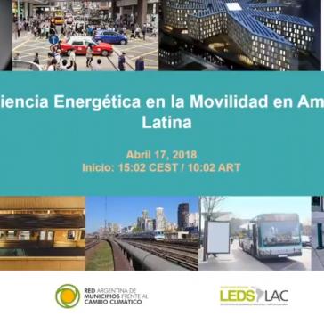 Eficiencia Energética en la Movilidad en América Latina