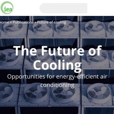 The Future of Cooling Opportunities for energy-efficient air conditioning
