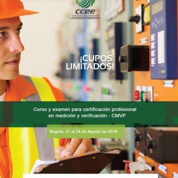 III Curso de formación y certificación en Medición y Verificación de Ahorros de Energía CMVP