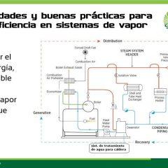 Primer seminario web – Oportunidades y buenas prácticas de Eficiencia Energética en Sistemas Térmicos de Vapor